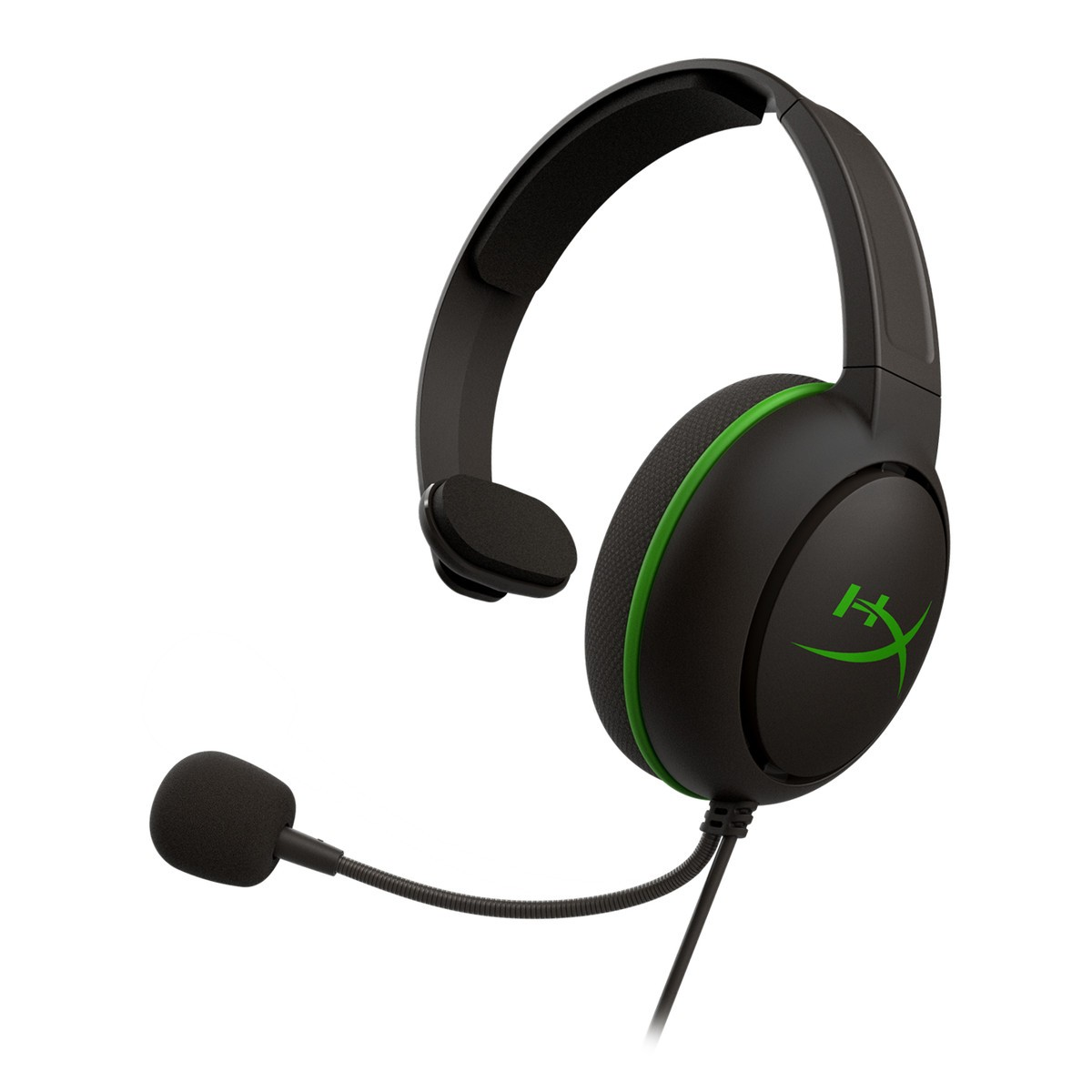 Headset Gamer HyperX CloudX Chat, Xbox, 3.5mm, Black/Green, HX-HSCCHX-BK/WW