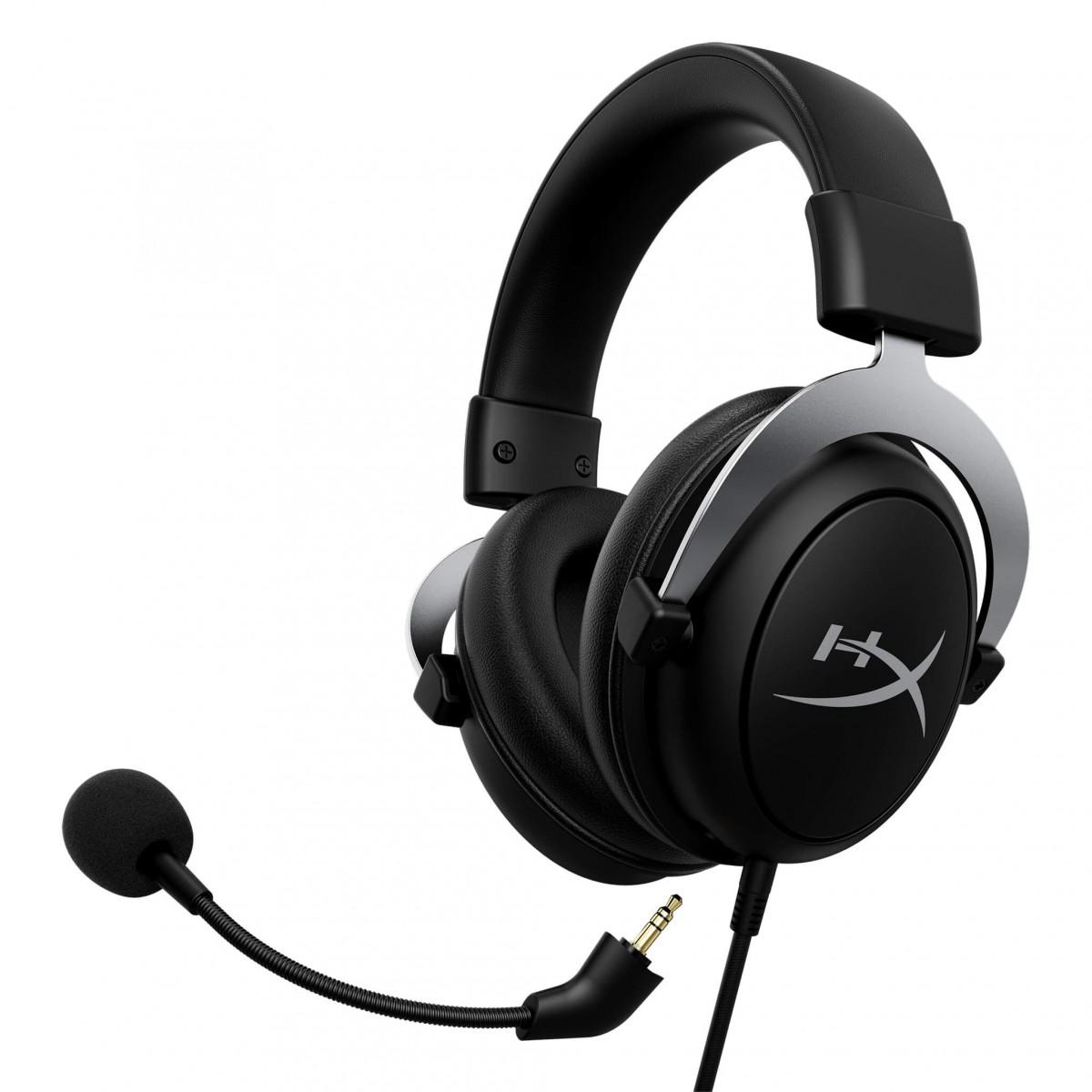 Headset Gamer HyperX CloudX, Xbox, Driver 53mm, 3.5mm, Black, HX-HS5CX-SR