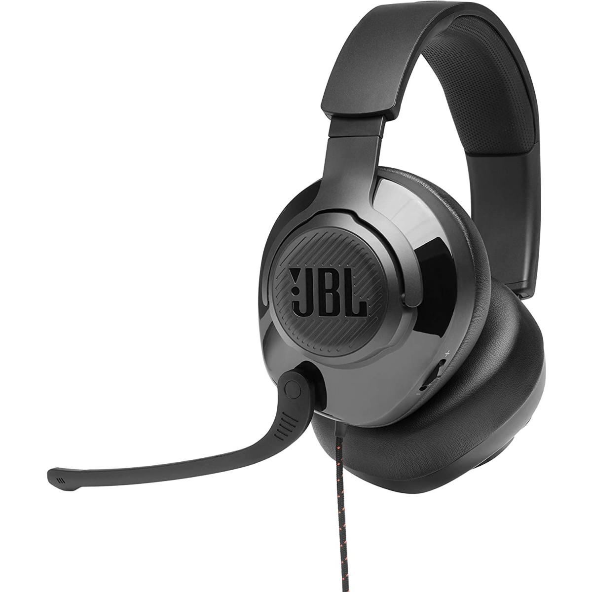 Headset GamerJBL Quantum 300 Preto