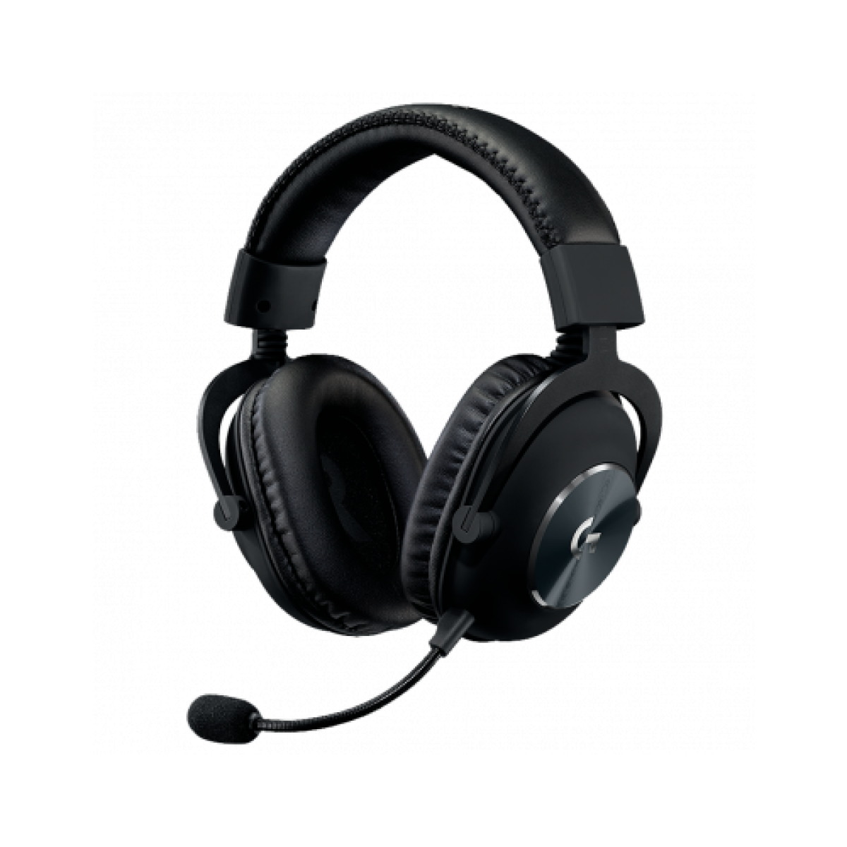 Headset Gamer Logitech Pro, Estéreo, Black, 981-000811