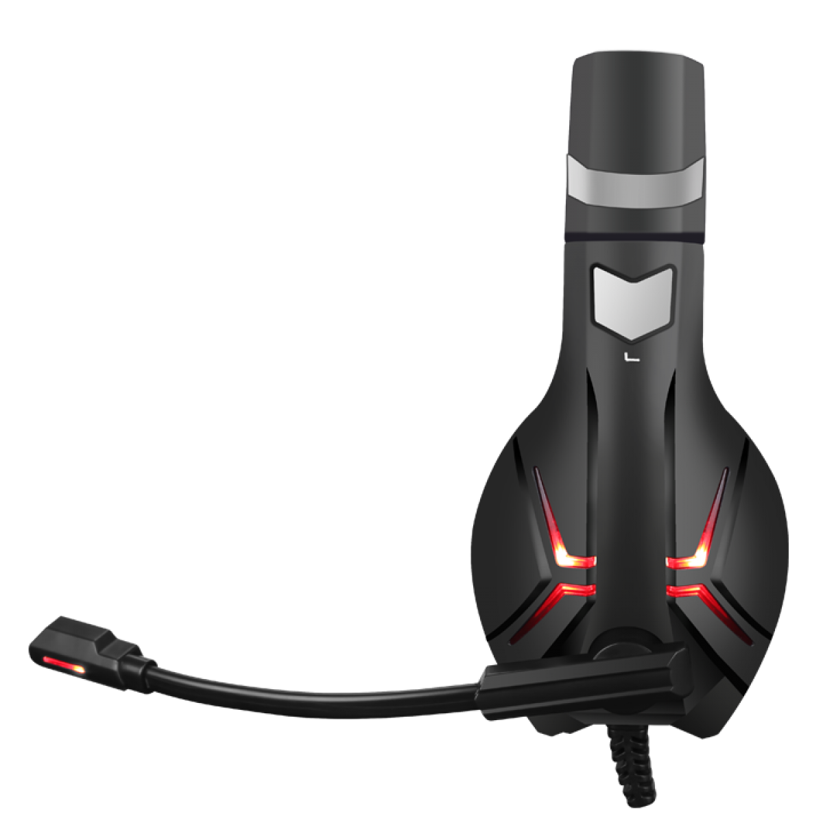 Headset Gamer Marvo Scorpion HG8928 Preto/Vermelho