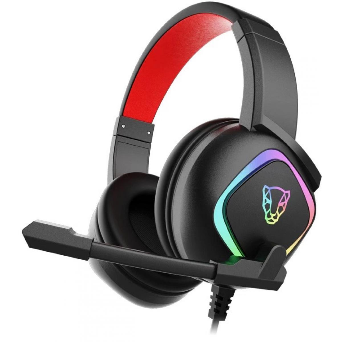 Headset Gamer MotoSpeed G750 RGB Surround, 7.1, Black, FMSHS0069PTO