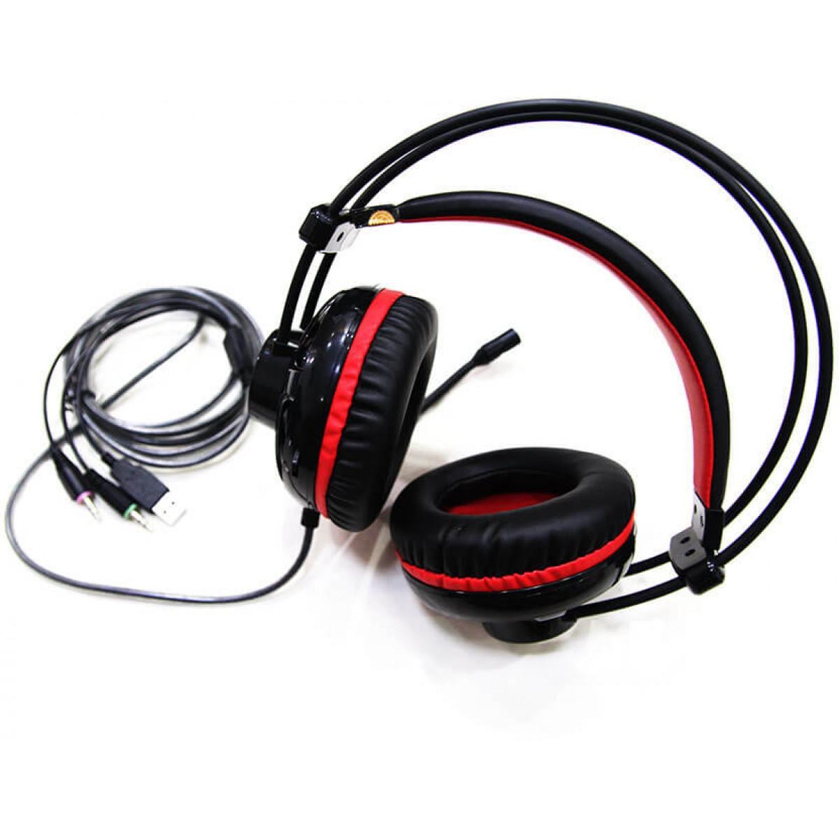 Headset Gamer MotoSpeed H11, Black, FMSHS0052PTO