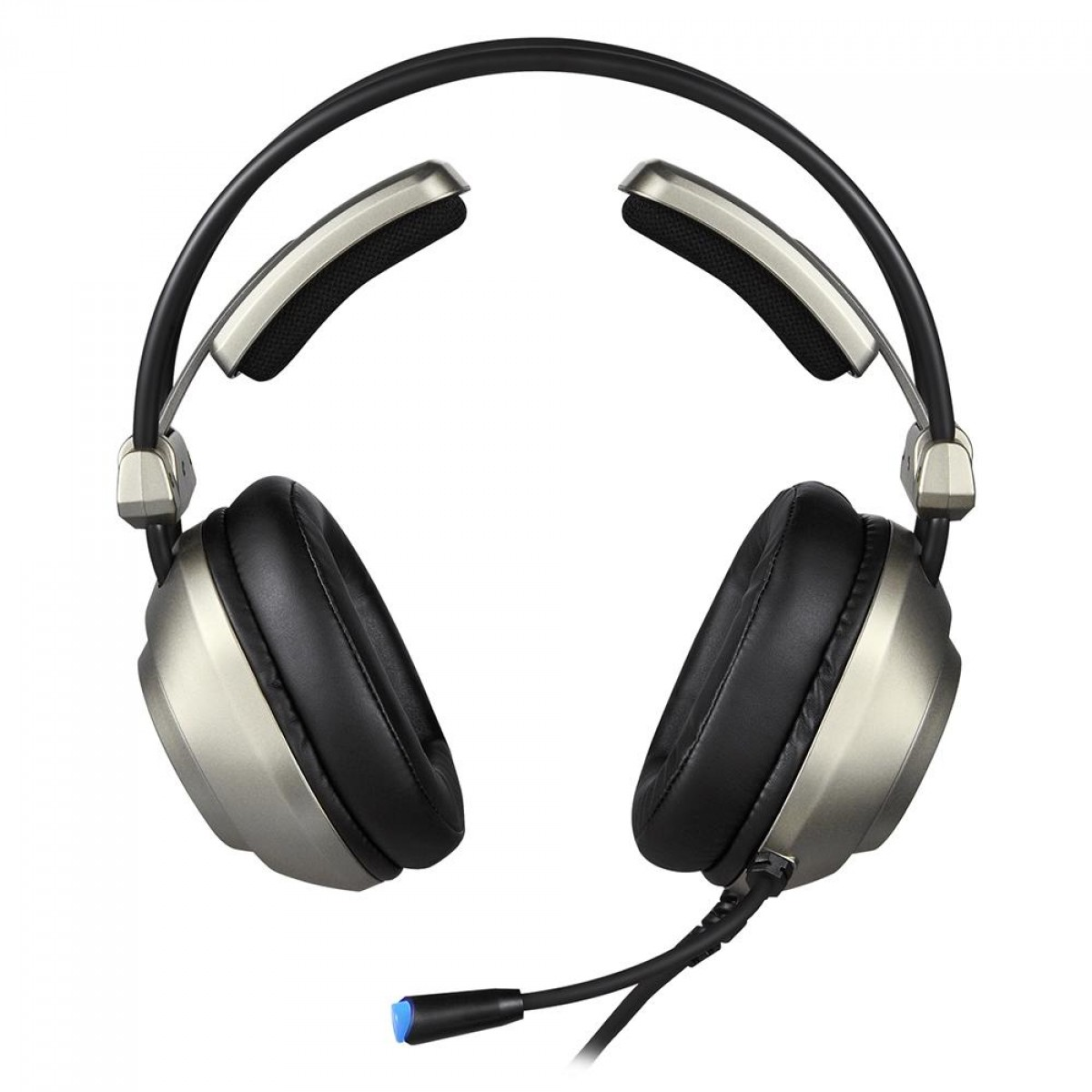 Headset Gamer Motospeed H19, USB, PC, Gray, FMSHS0105CIZ