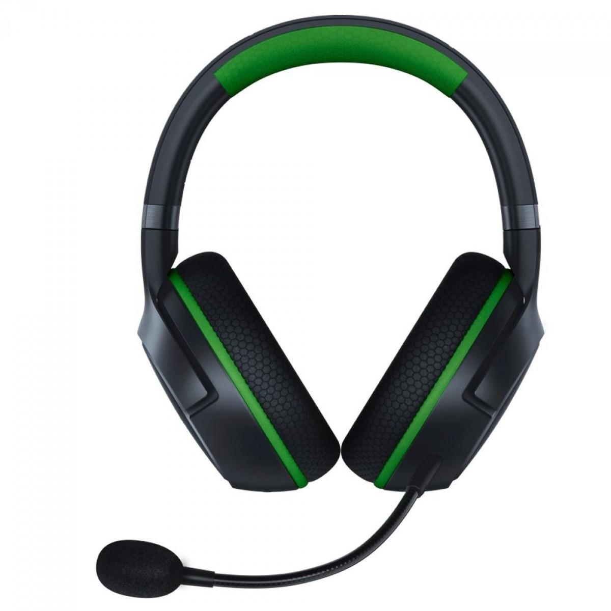 Headset Gamer Razer Kaira Pro, Bluetooth, Xbox, Black/Green, RZ04-03470100-R3U1