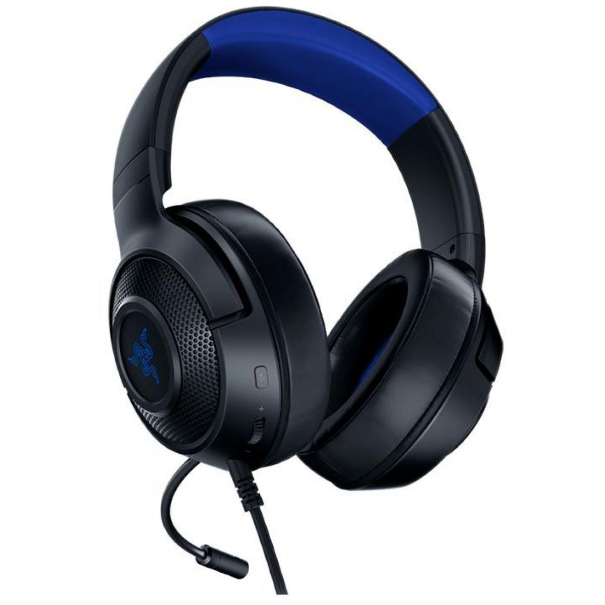 Headset Gamer Razer Kraken X, Xbox One, PS4, Switch, Black