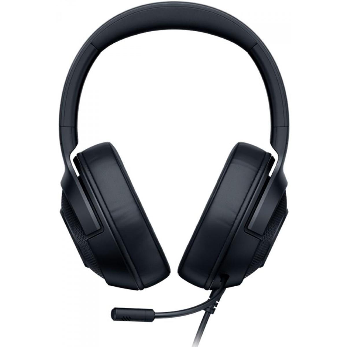 Headset Gamer Razer Kraken X, Xbox One, PS4, Switch, PC, Black