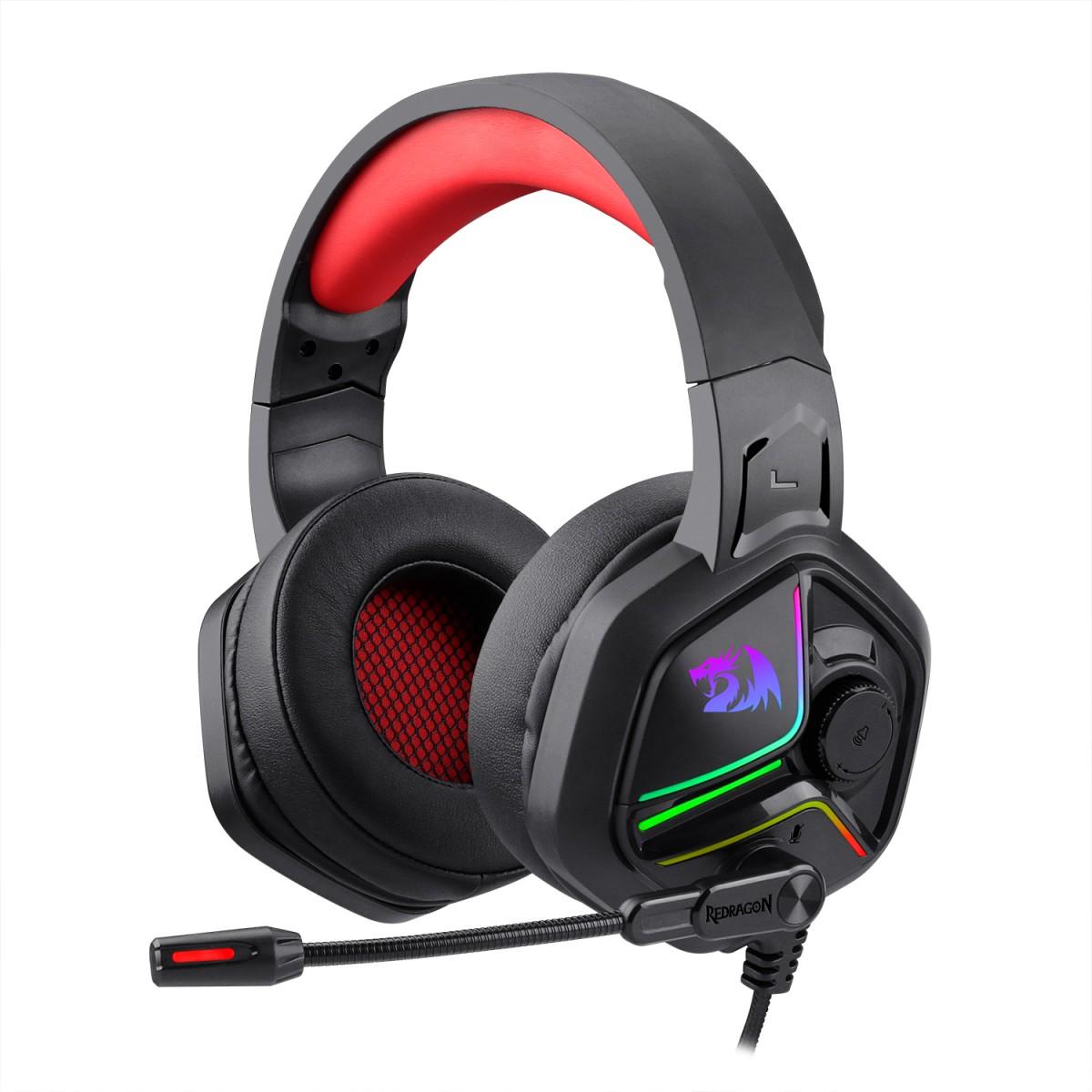 Headset Gamer Redragon Ajax H230, Preto, H230