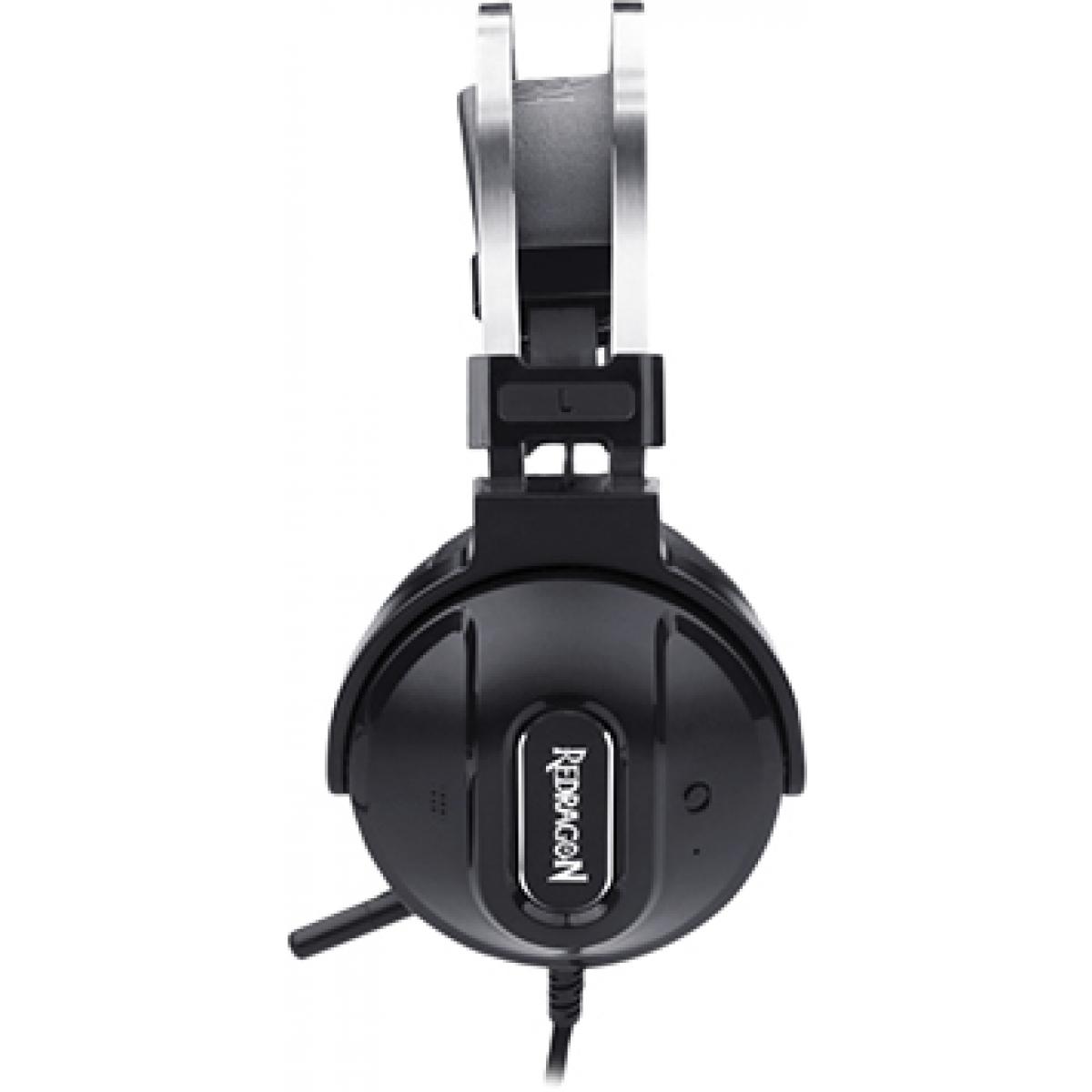 Headset Gamer Redragon Ladon H990 USB 7.1 Preto