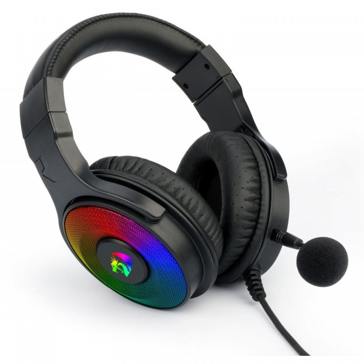 Headset Gamer ReDragon, Pandora 2, RGB, USB + 3.5mm , Microfone Destacável, H350RGB-1