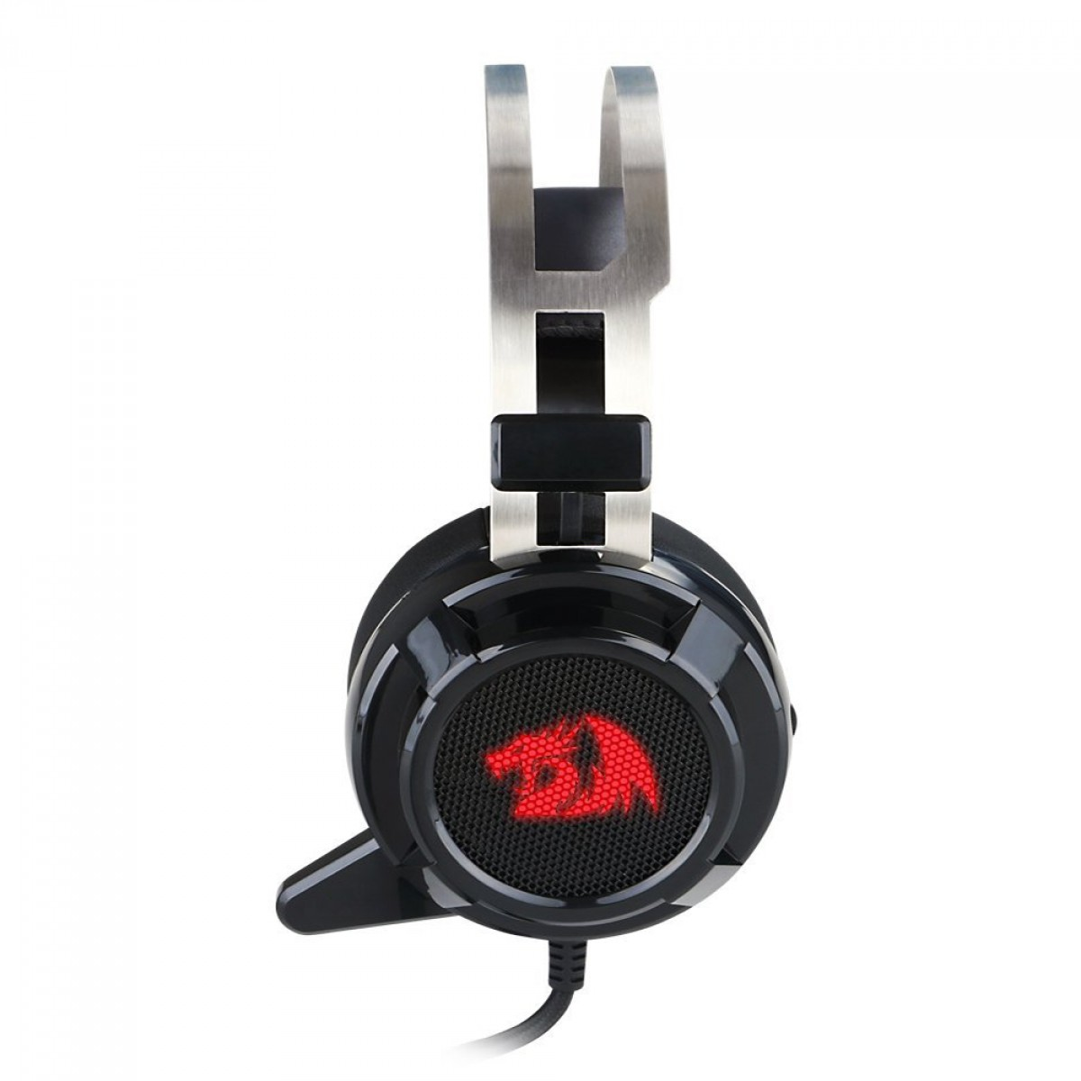 Headset Gamer Redragon Siren 2, USB, 7.1 Surround, Black, H301USB-1