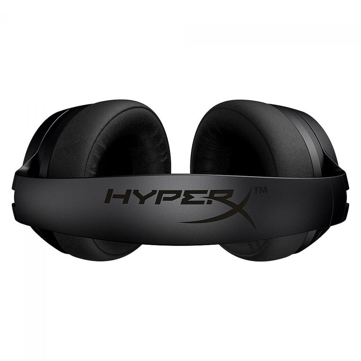 Headset Gamer Sem Fio HyperX Cloud Flight S, Drivers 50mm, Surround 7.1, Carregamento QI, Múltiplas Plataformas, HX-HSCFS-SG/WW