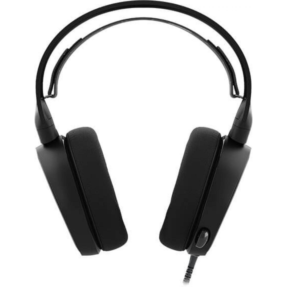 Headset Gamer Steelseries Arctis 3 7.1 Surround Preto 61433