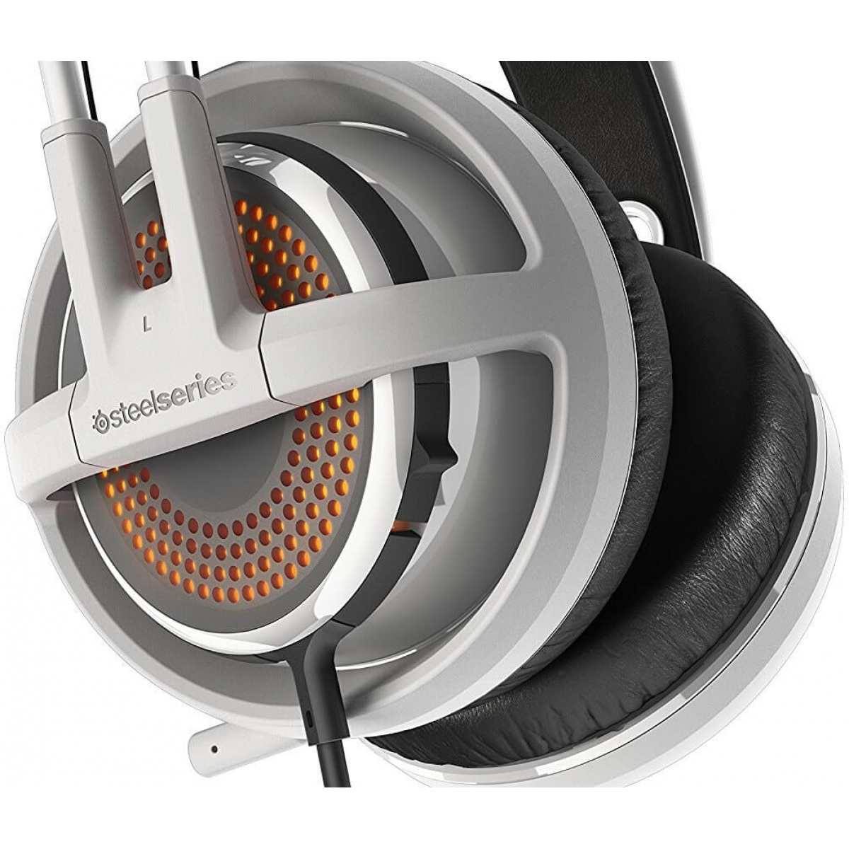 Headset Gamer Steelseries Siberia 350 RGB Dolby 7.1 Branco 51204