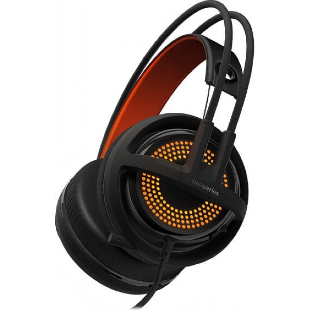 Headset Gamer Steelseries Siberia 350 RGB Dolby 7.1 Preto 51202