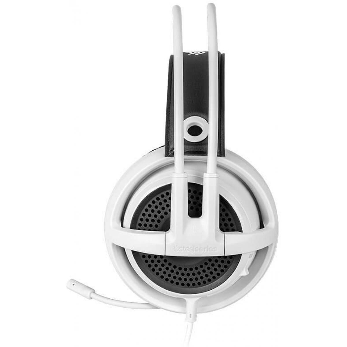 Headset Gamer Steelseries Siberia V3 Dolby 7.1 Branco PC/PS4/MOBILE 61356