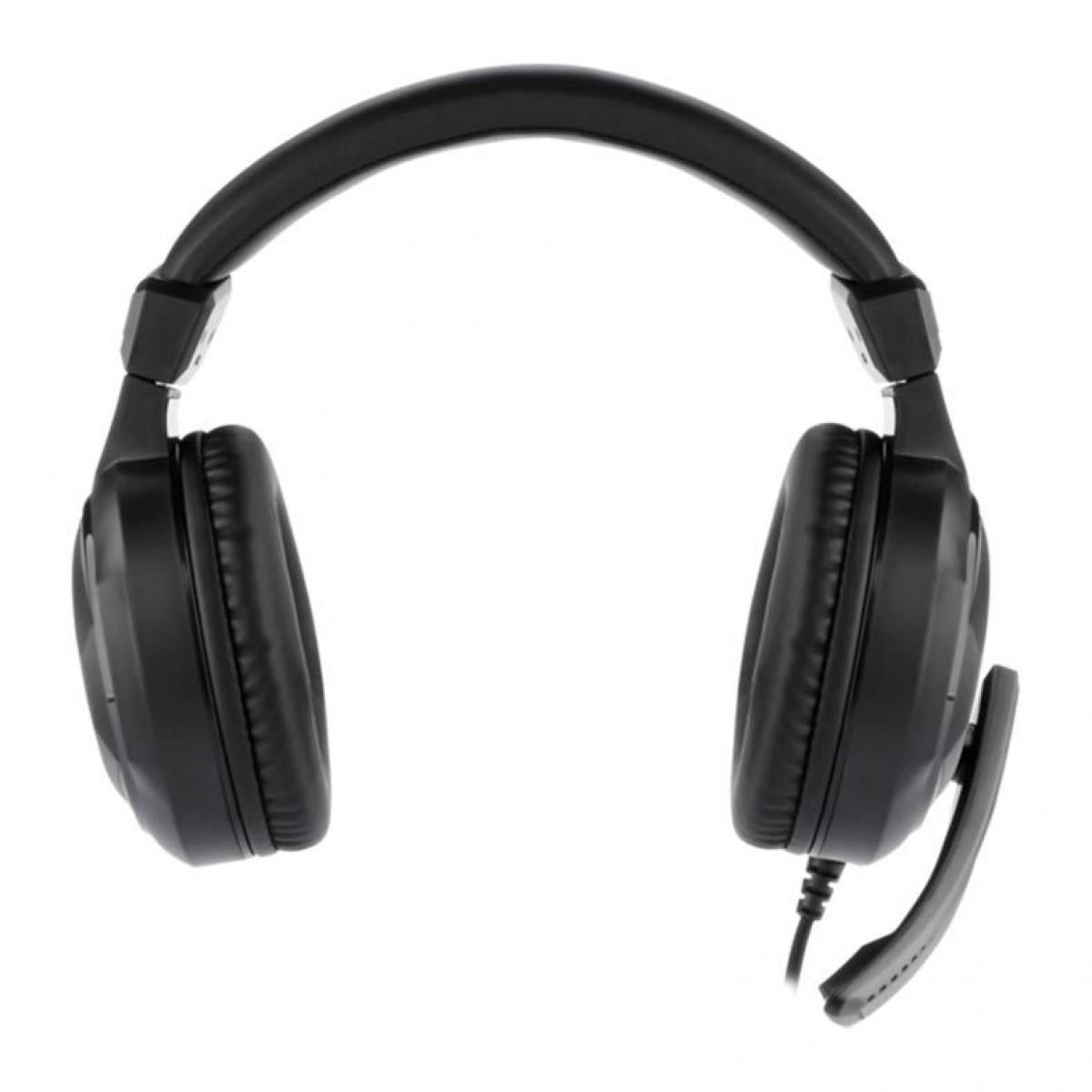 Headset Gamer T-Dagger Mckinley, 40mm, Black, T-RGH101