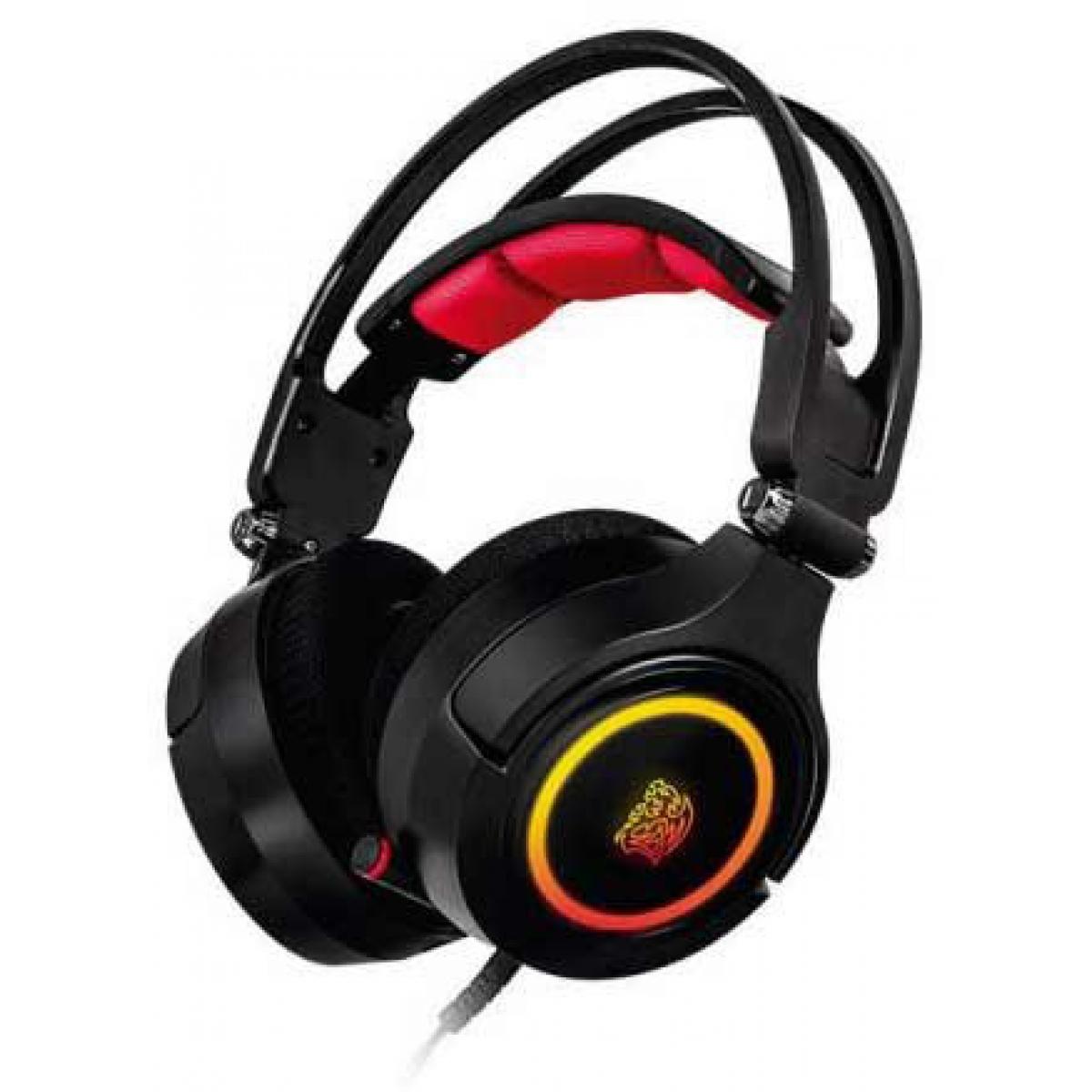 Headset Gamer Thermaltake Cronos Riing Rgb Ht-cra-diecbk-20