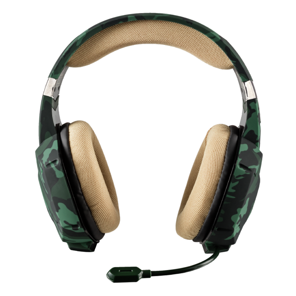 Headset GamerTrust Jungle Camo, Multiplataforma, GXT322C