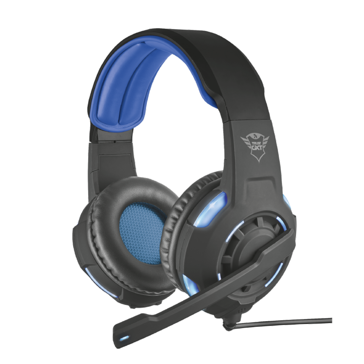 Headset GamerTrustRadius, 7.1 Surround, GXT350