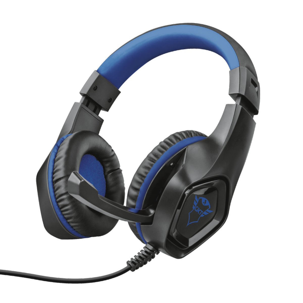 Headset Gamer Trust Rana, PS4, Azul, GXT404B