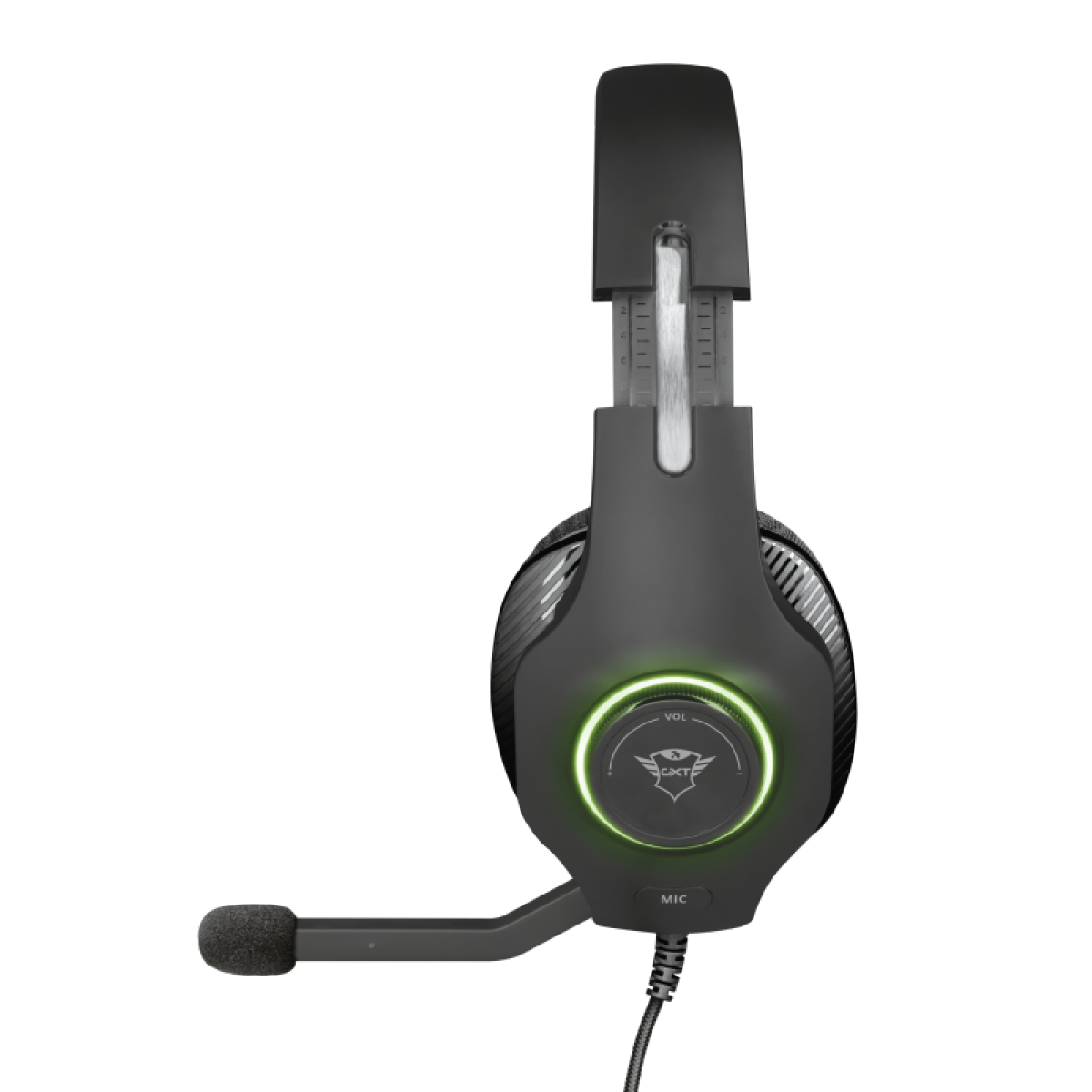 Headset Gamer Trust Torus RGB, PC e Laptop, GXT455