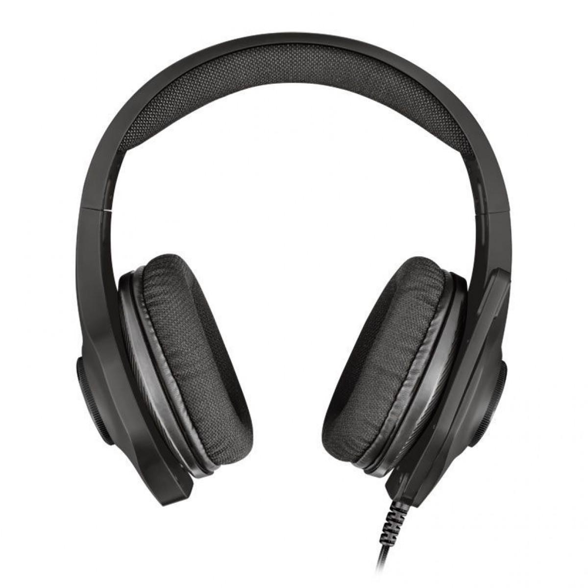 Headset Gamer Trust Tourus RGB, Black, T23138