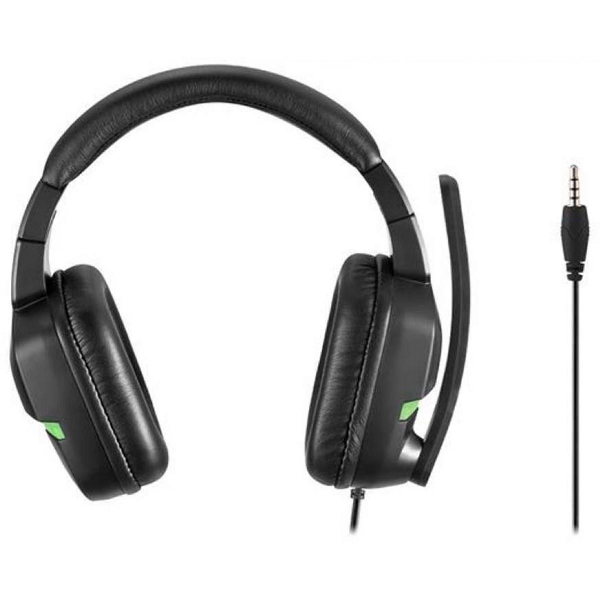 Headset Gamer Warrior Askari Stereo, Xbox One, Verde, PH291