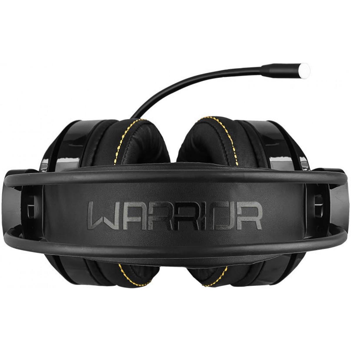 Headset Gamer Warrior Thyra Rgb, 7.1 Surround Com Vibracao, Black, PH290