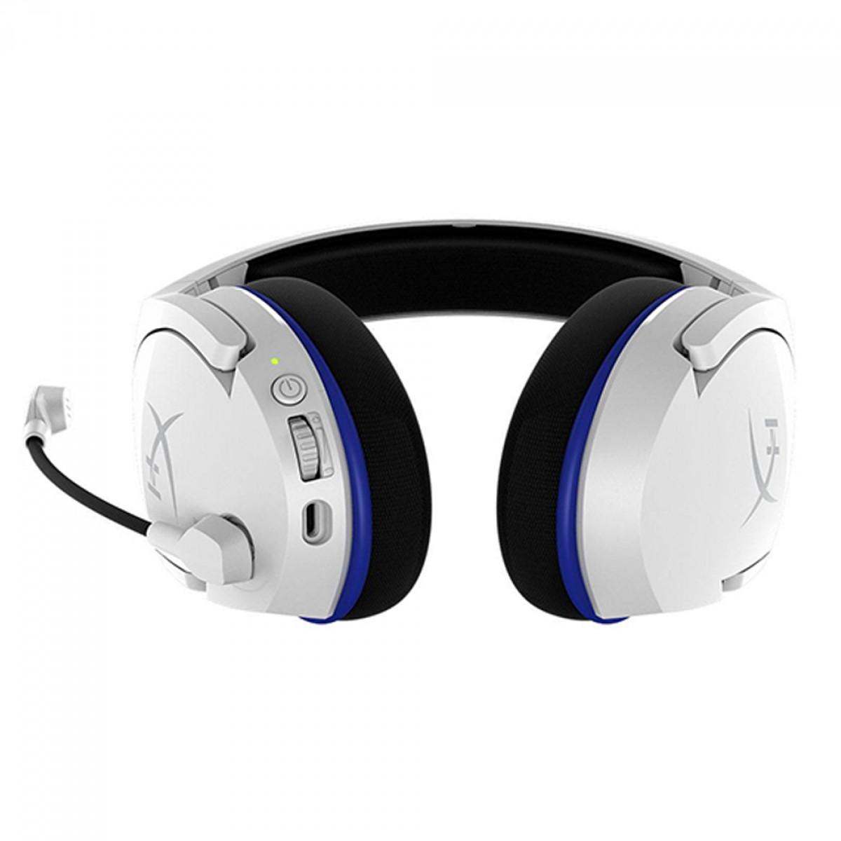 Headset Gamer Wireless HyperX Cloud Stinger Core, Driver 40mm, USB, White, HHSS1C-KB - WT/G
