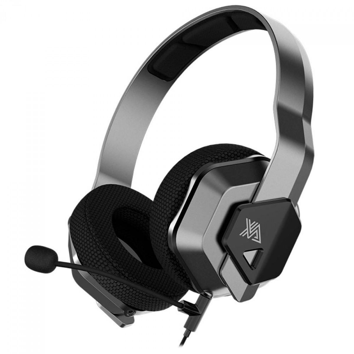 Headset Gamer Xanova Ocala Surround 7.1 Preto/Prata, XH200