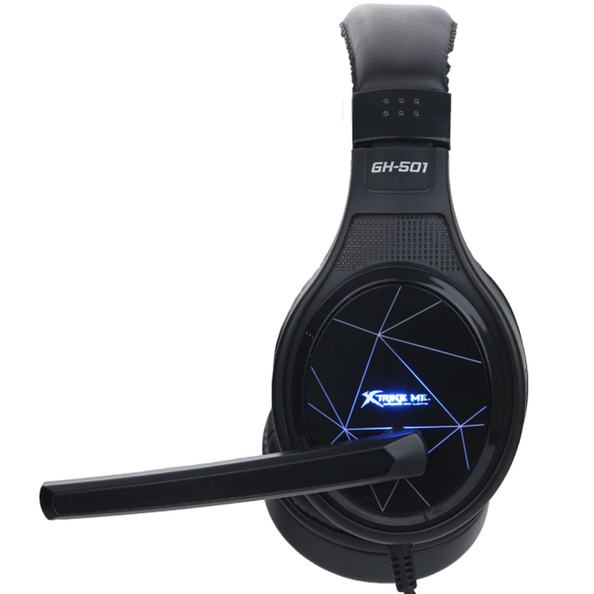 Headset Gamer XTRIKE-ME GH-501, Black/Blue, Backlit, GH501BK