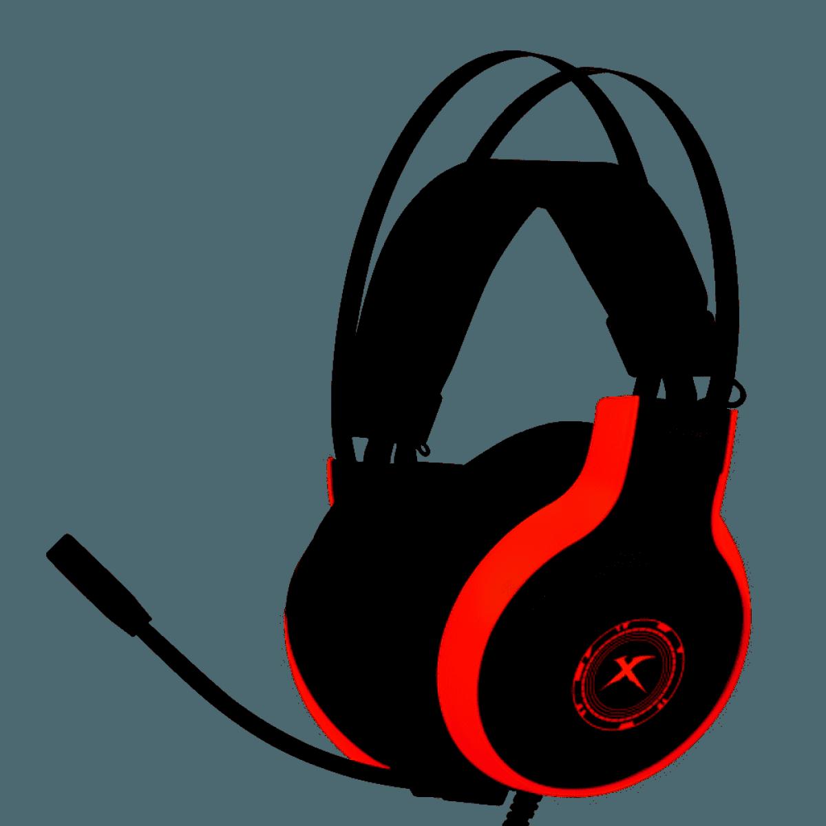 Headset Gamer Xtrike-me GH-908, 7.1, 3.5mm x 2 + USB, PC/PS4/Xbox One, GH-908