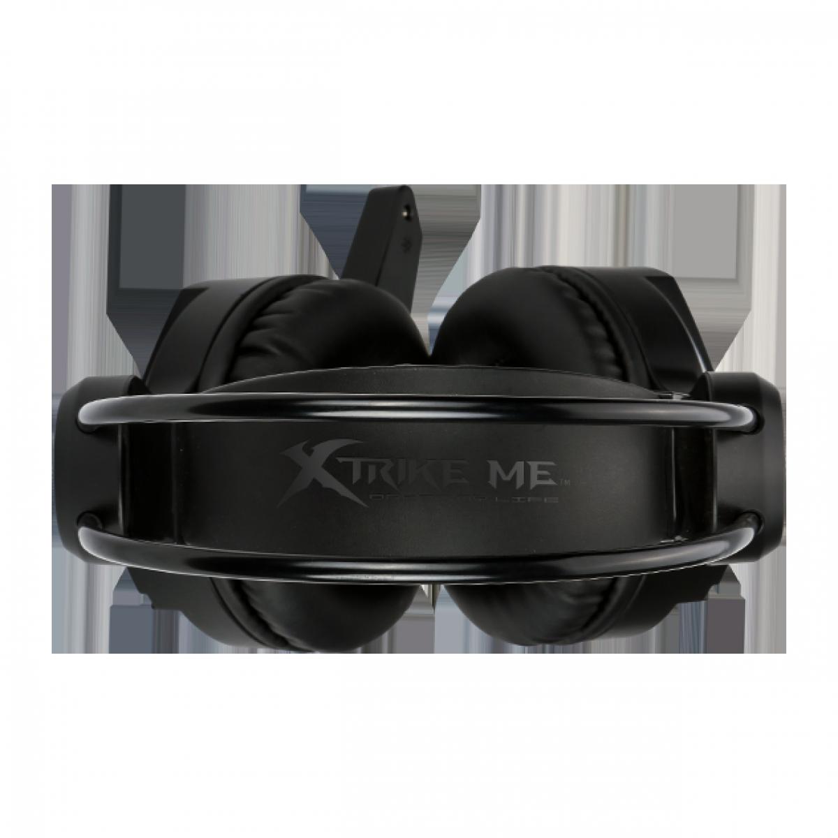 Headset Gamer XTRIKE-ME GH-918, 7.1 Audio, Black, GH918