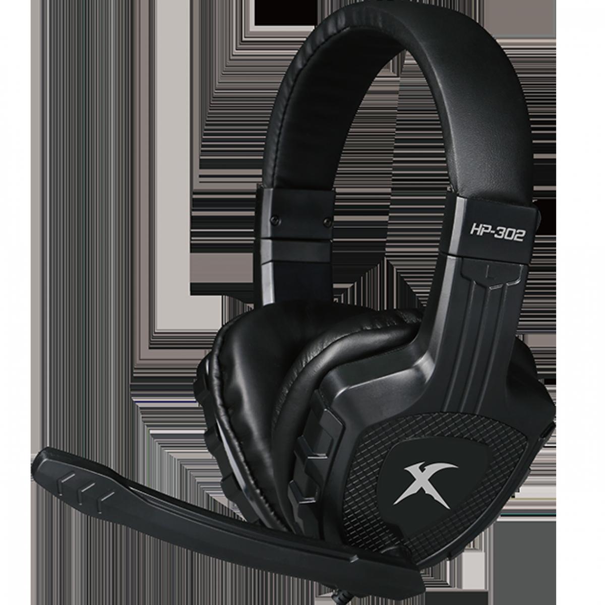 Headset Gamer XTRIKE-ME HP-302, Black, Backlit, HP302BK