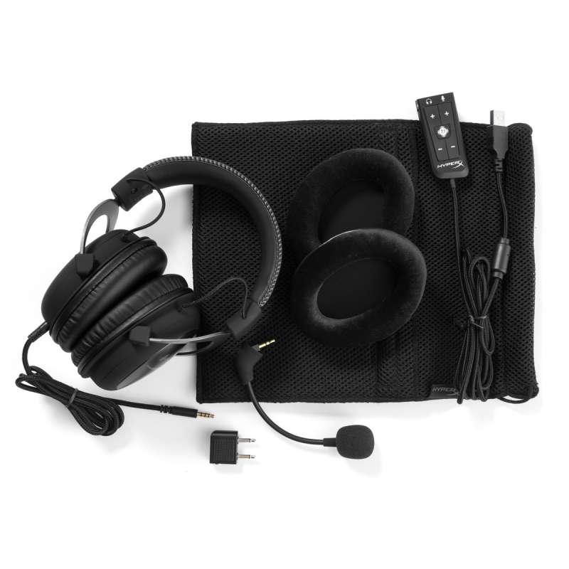 Headset HyperX Cloud II Kingston Black KHX-HSCP-GM