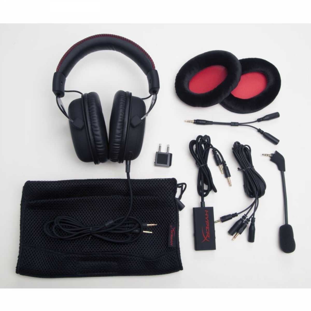 Headset HyperX Cloud Kingston Cloud Black KHX-H3CL/WR