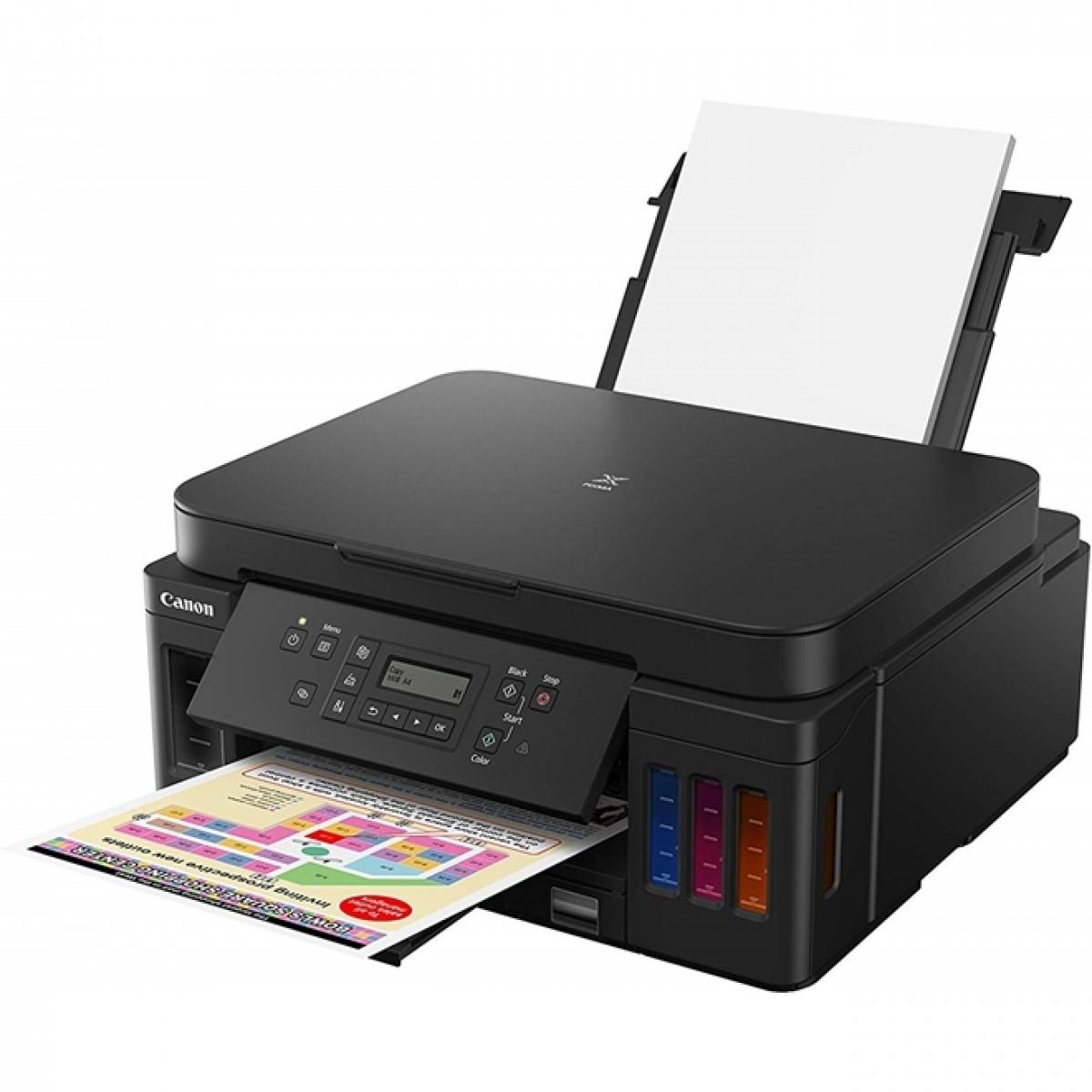 Impressora Multifuncional Canon, MegaTank G6010, Wireless, Jato de Tinta, Colorida, Bivolt, 3113C005AA