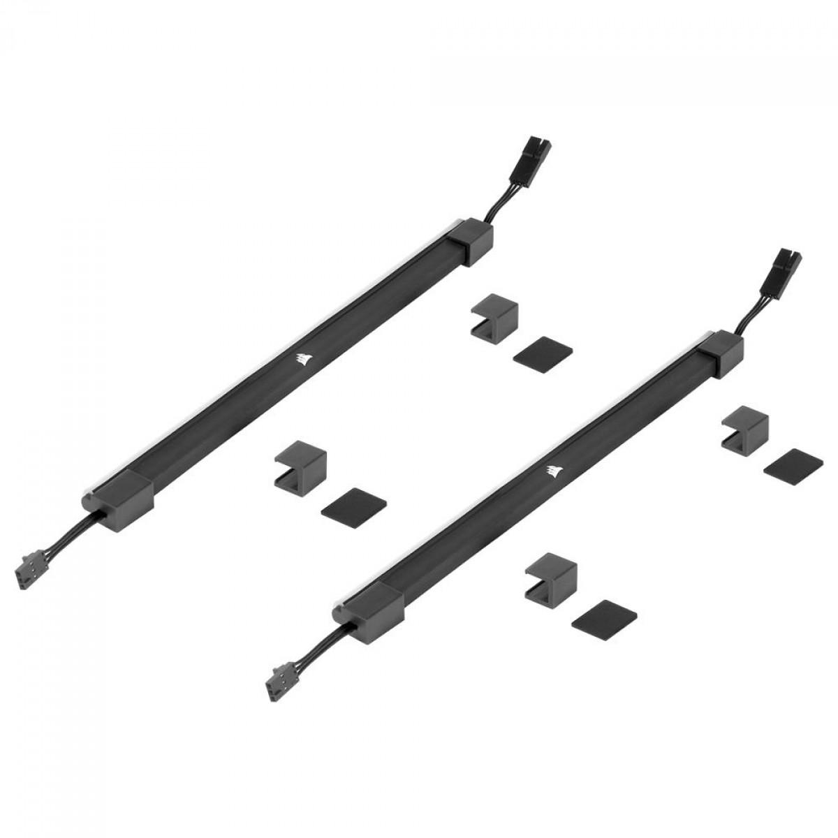 Kit 2 Fitas Led RGB CORSAIR iCUE LS100, 250mm, CD-9010001-WW/SS