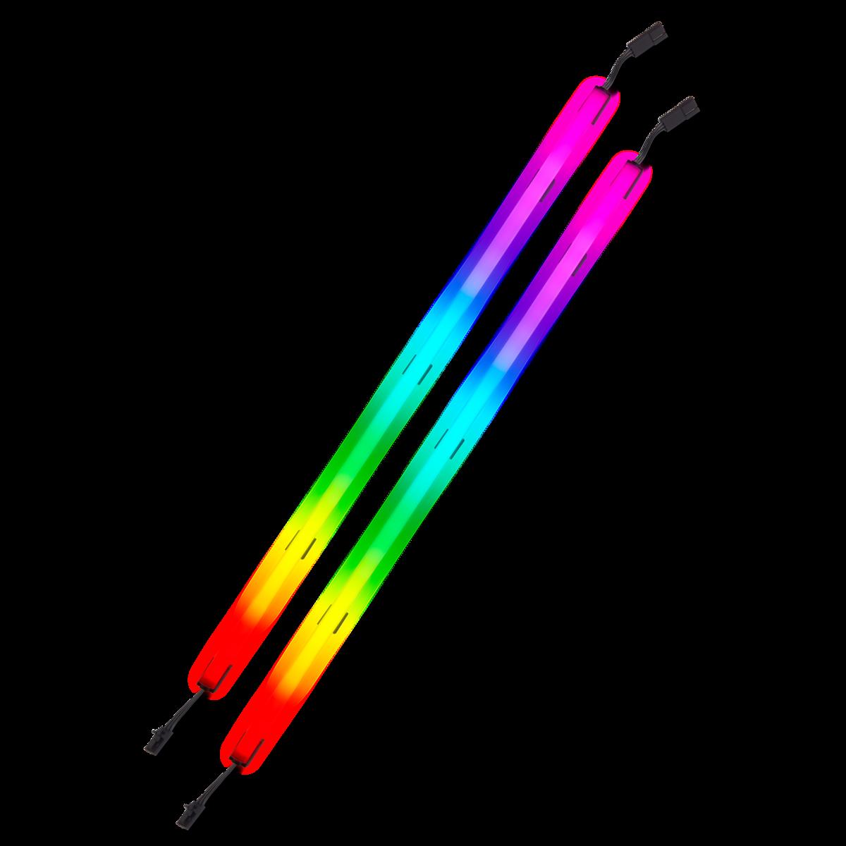 Kit 2 Fitas Led RGB CORSAIR iCUE LS100, 450mm, CD-9010001-WW/LL