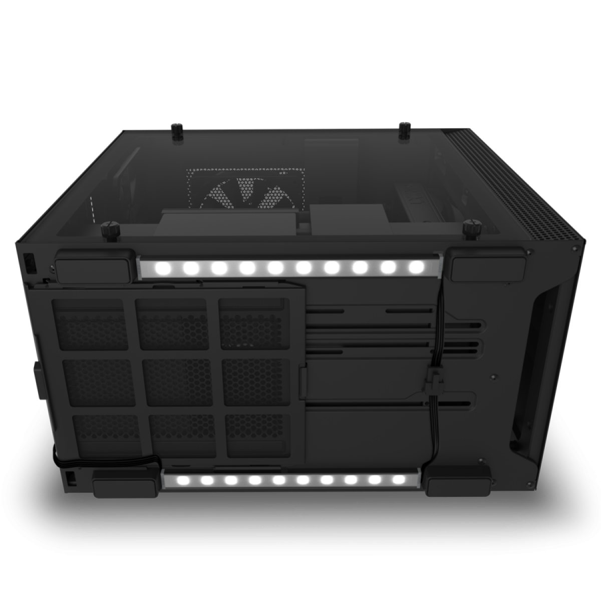 Kit 2 Fitas Led RGB NZXT Underglow Para Gabinete, 200mm, AH-2UGKD-B1