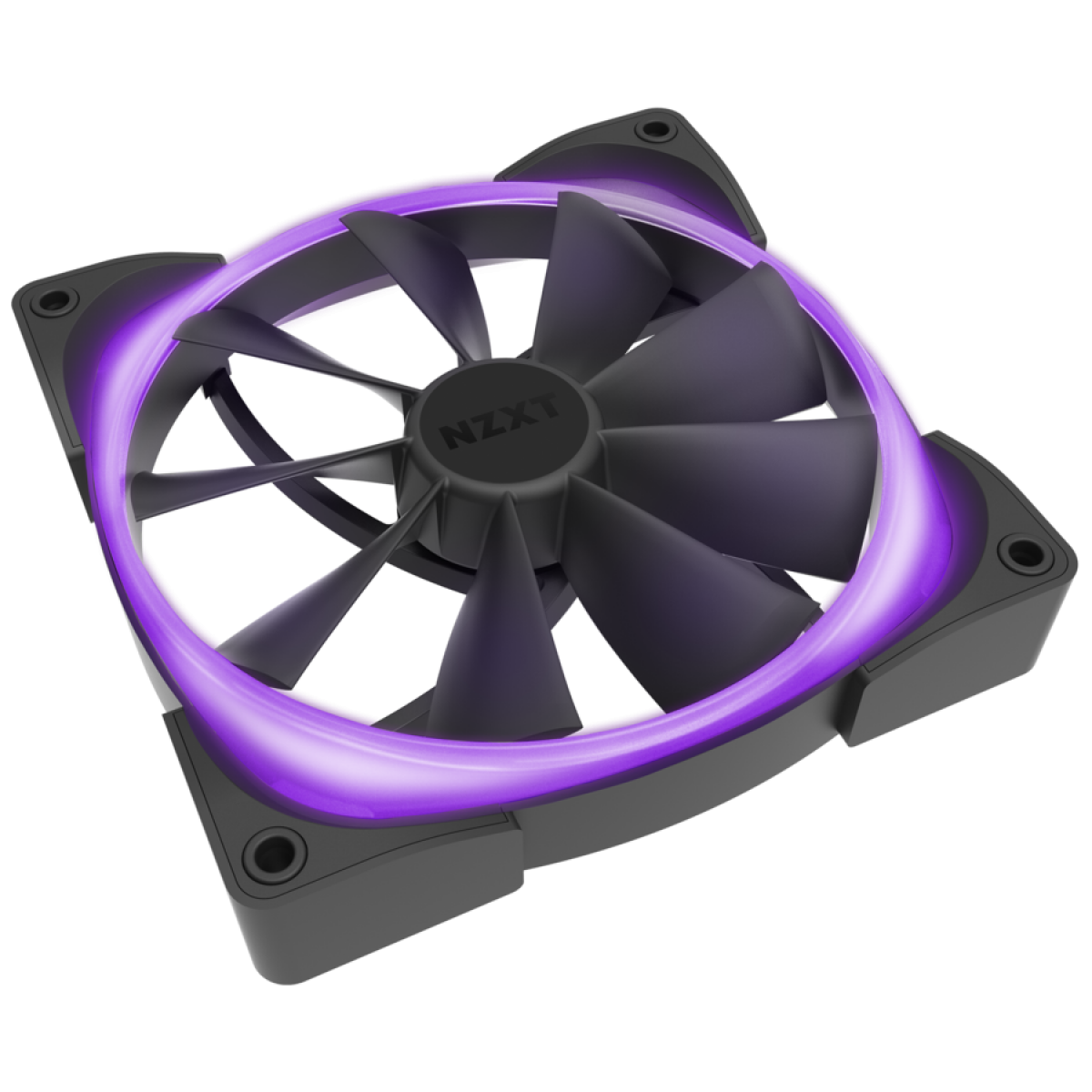 Kit Controlador de Iluminação Led  HUE2 + 2 Fan 120mm Led RGB NZXT, HF-2812C-D1