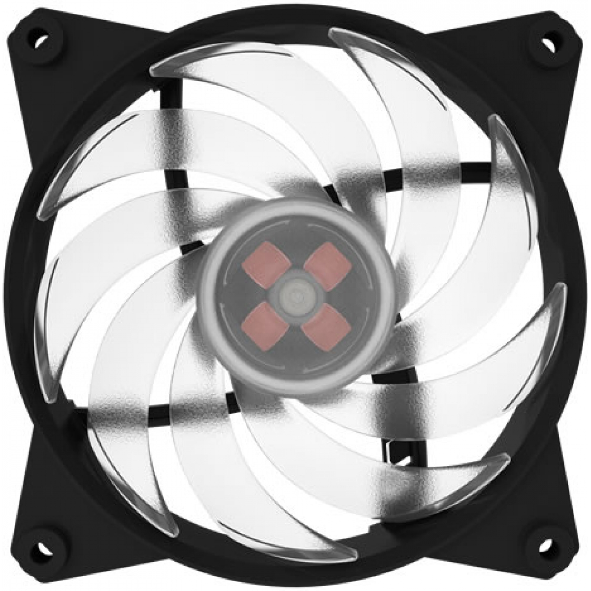 Kit Fan com 3 Unidades Cooler Master Masterfan PRO 120, RGB 120mm, MFY-B2DC-133PC-R1