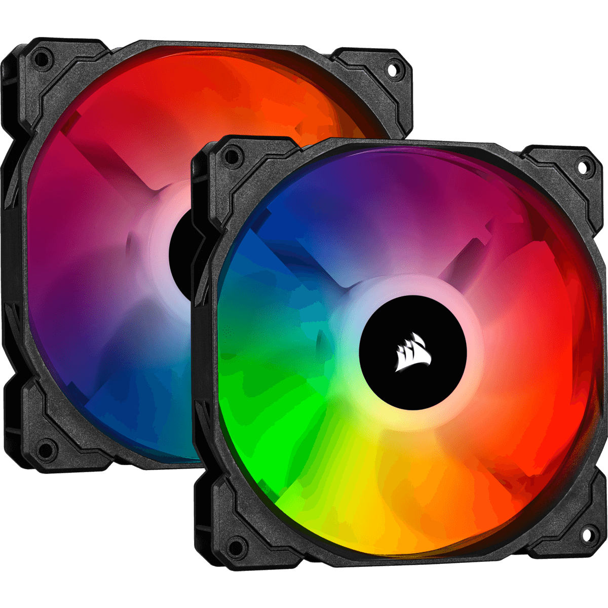 Kit Fan com 2 Unidades Corsair iCue SP140, RGB Pro, 140mm, CO-9050096-WW