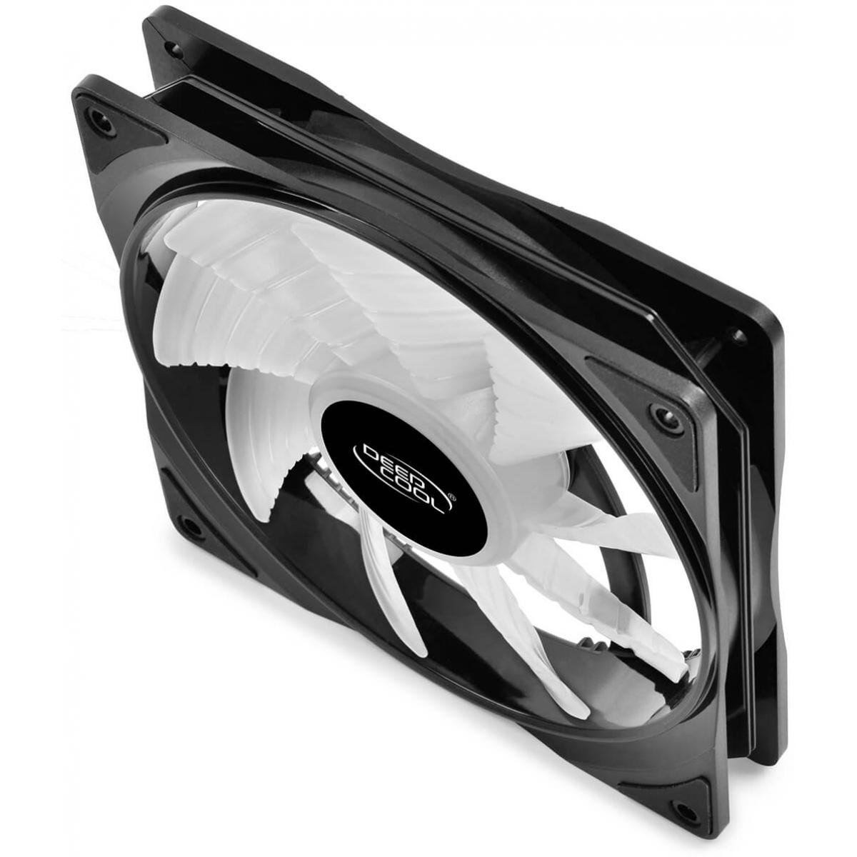 Kit Fan com 2 Unidades Deepcool CF140 RGB 140mm, DP-FA-RGB-CF140-2