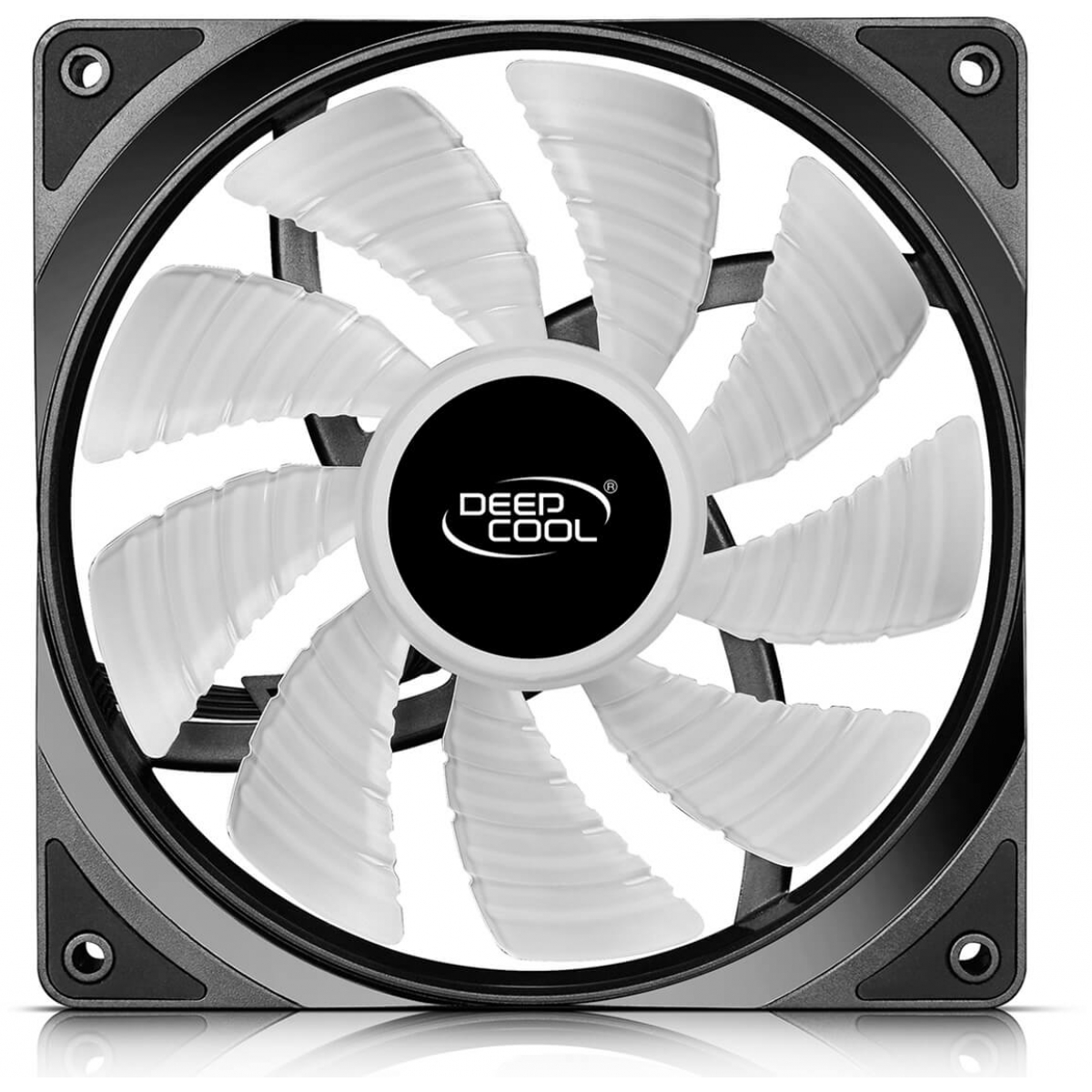 Kit Fan com 2 Unidades Deepcool RF 140 RGB 140mm, DP-FRGB-RF140-2C