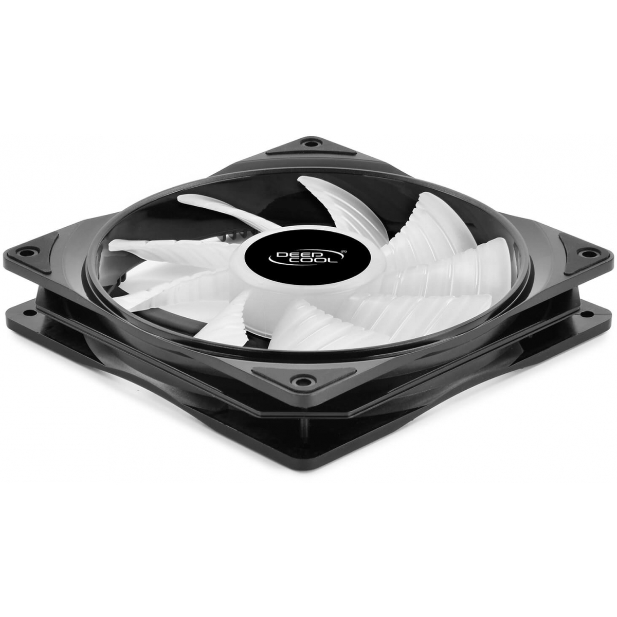 Kit Fan com 2 Unidades Deepcool RF 140 RGB 140mm, DP-FRGB-RF140-2C