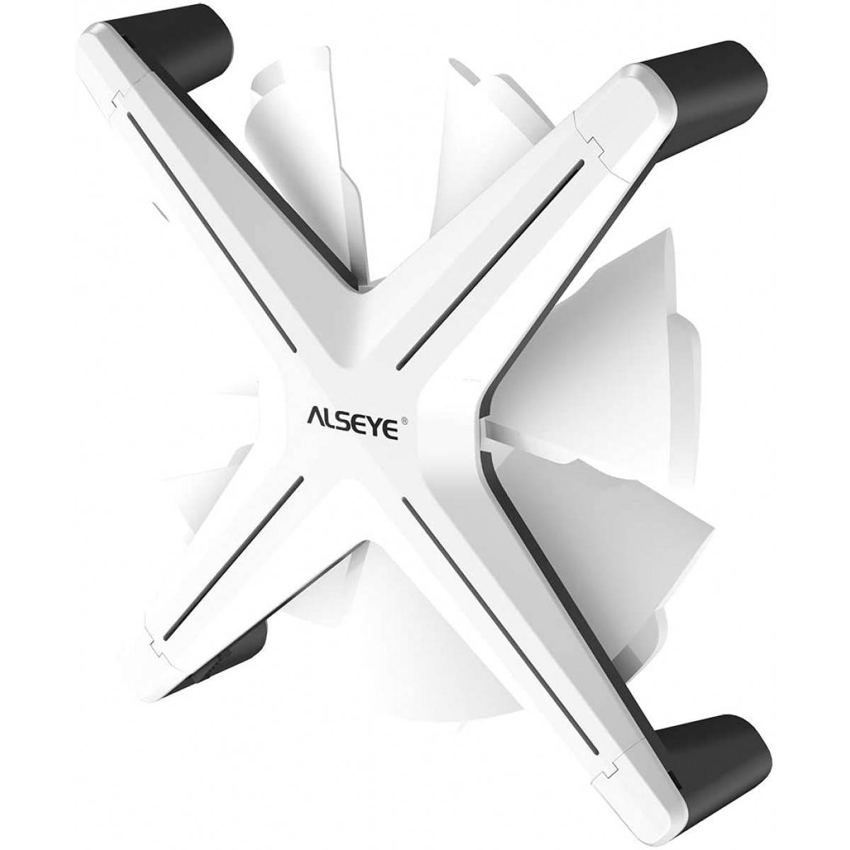 Kit Fan com 3 Unidades Alseye X12, ARGB, White, 120mm