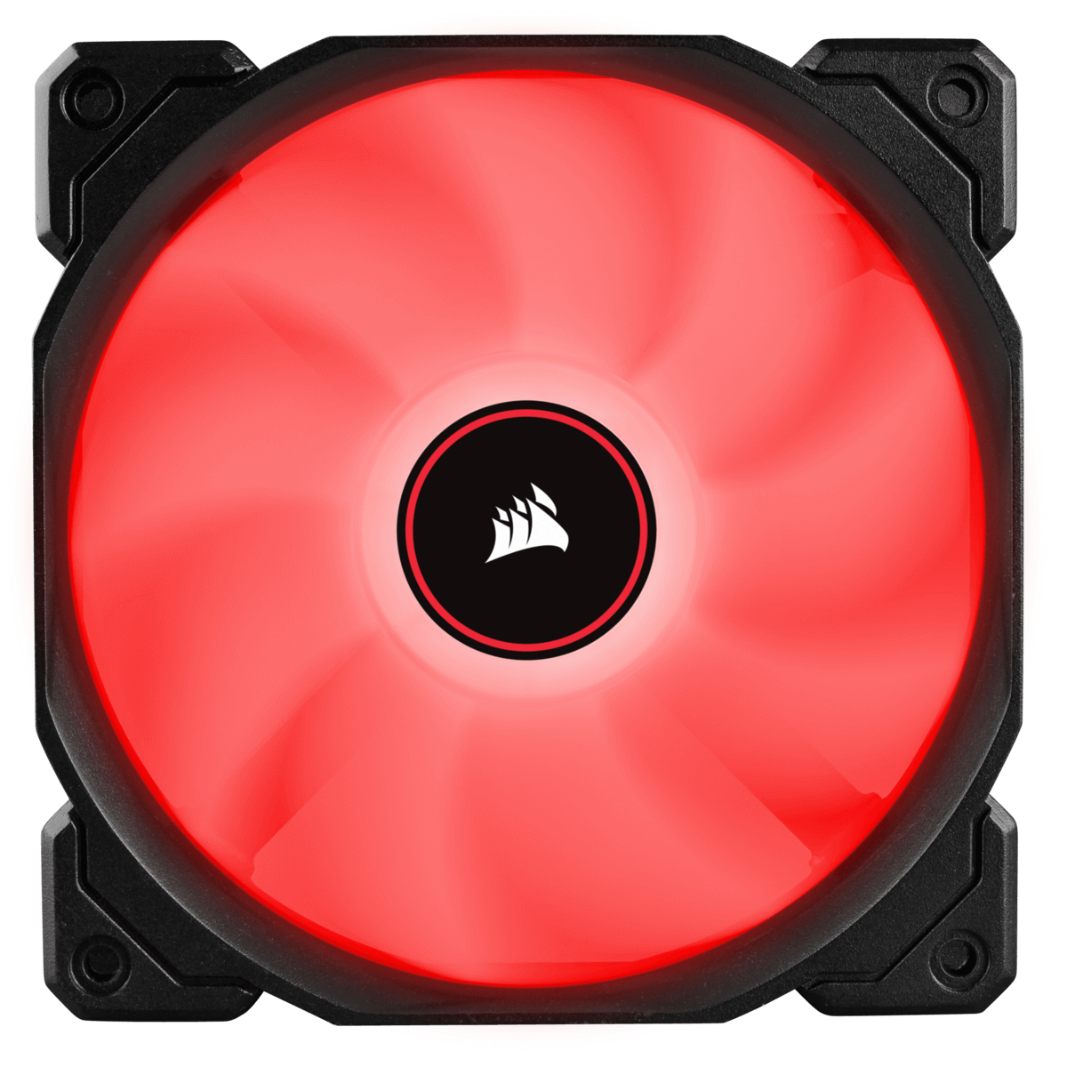 Kit Fan com 3 Unidades Corsair AF120, Led Red 120mm, CO-9050083-WW