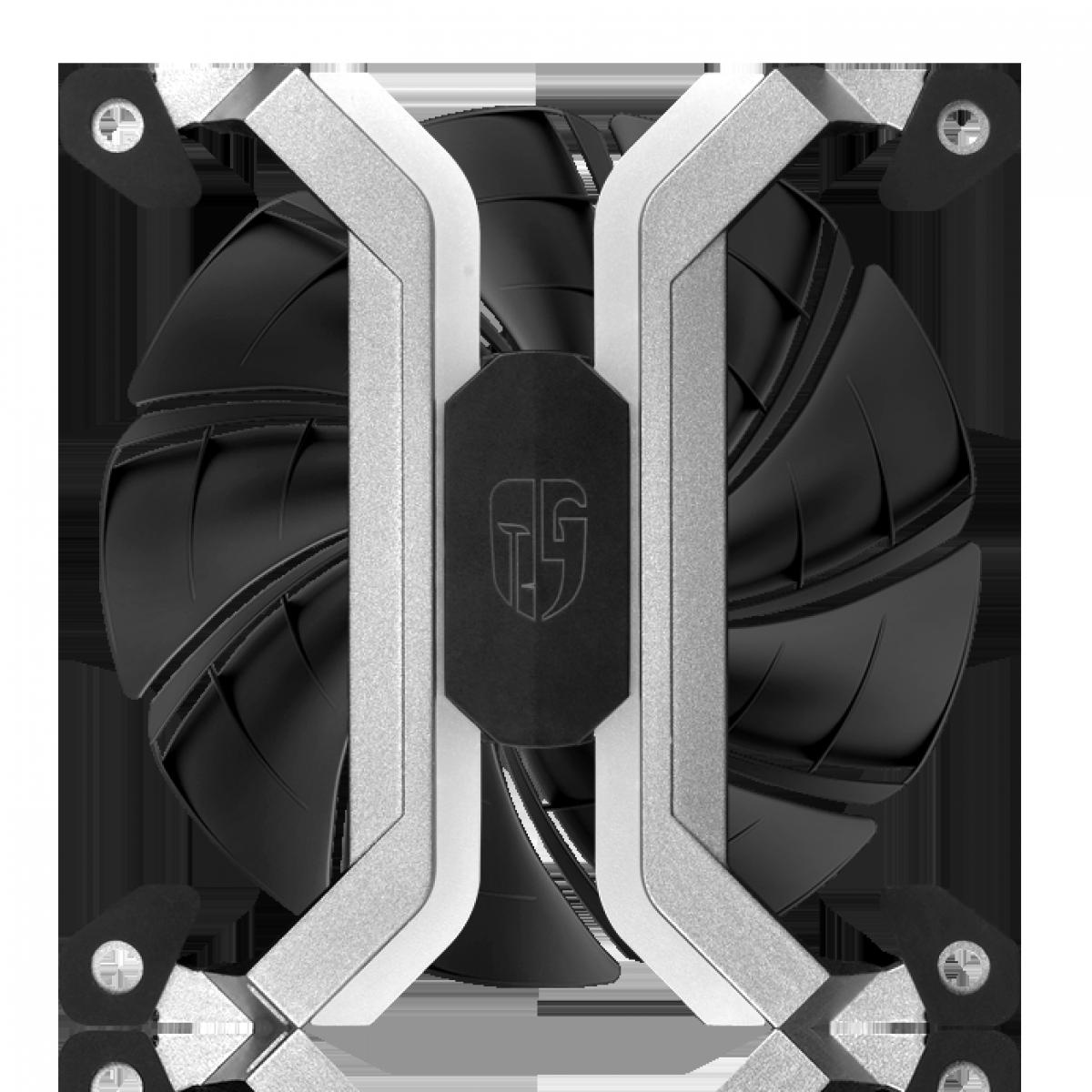 Kit Fan com 3 Unidades DeepCool, ADD-RGB 120mm, MF120S, DPGS-FMF120S-M-3P